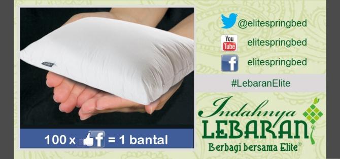 #LebaranElite Indahnya Berbagi